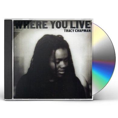 Tracy Chapman WHERE YOU LIVE CD
