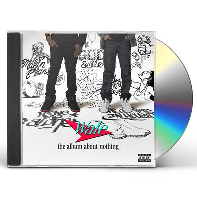 Wale ALBUM ABOUT NOTHING CD