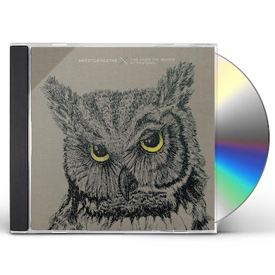 Needtobreathe LIVE FROM THE WOODS CD