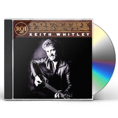 Keith Whitley RCA COUNTRY LEGENDS CD