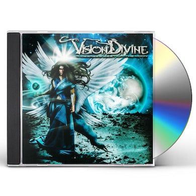 Vision Divine 9 Degrees West Of The Moon CD