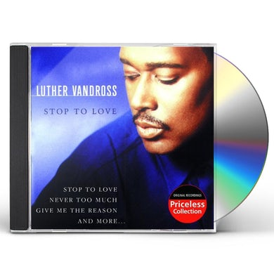 Luther Vandross STOP TO LOVE CD