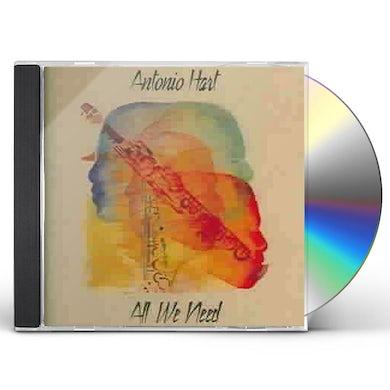 Antonio Hart All We Need CD
