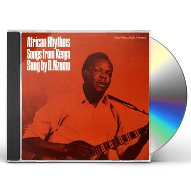 David Nzomo AFRICAN RHYTHMS: SONGS FROM KENYA CD