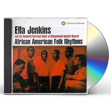 Ella Jenkins AFRICAN AMERICAN FOLK SONGS & RHYTHMS CD