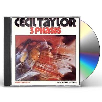 Cecil Taylor 3 PHASIS CD