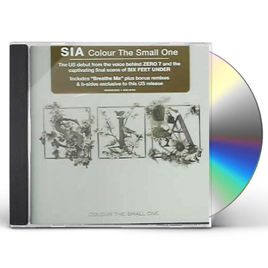 Sia COLOUR THE SMALL ONE CD