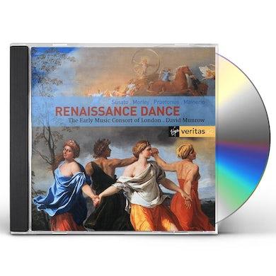 David Munrow RENAISSANCE DANCE: EARLY MUSIC CONSORT OF LONDON CD