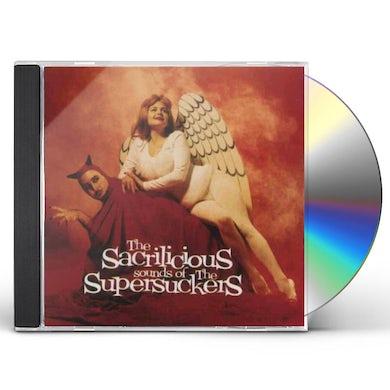 Supersuckers SACRILICIOUS CD