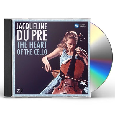 Jacqueline Du Pre HEART OF THE CELLO COMPILATION - 30TH ANNIVERSARY CD