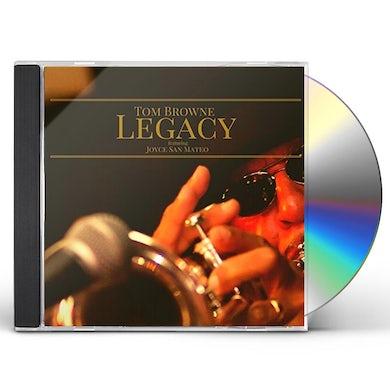 Tom Browne LEGACY CD