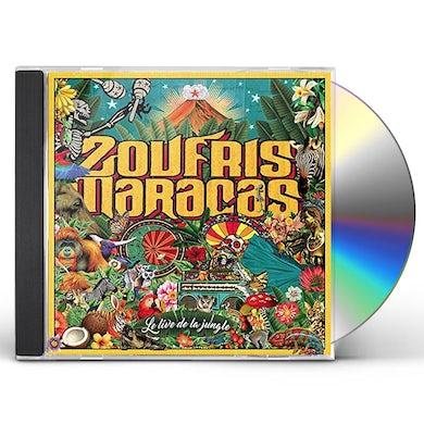 Zoufris Maracas LE LIVE DE LA JUNGLE CD