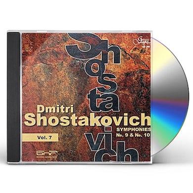 Shostakovich SYMPHONY 9 & 10 CD