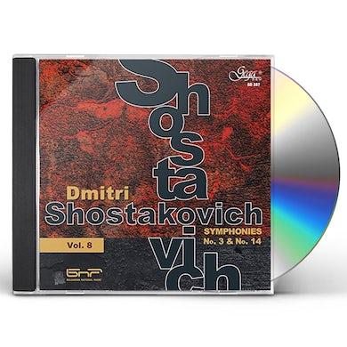 DMITRI SHOSTAKOVICH 8 CD