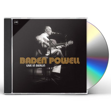 Baden Powell LIVE IN BERLIN CD