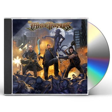 Three Tremors CD
