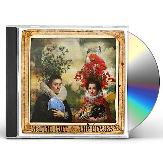 Martin Carr BREAKS CD