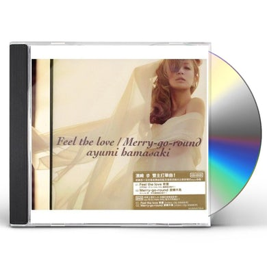 Ayumi Hamasaki FEEL THE LOVE/MERRY-GO-ROUND CD