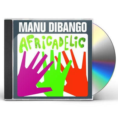 Manu Dibango AFRICADELIC CD