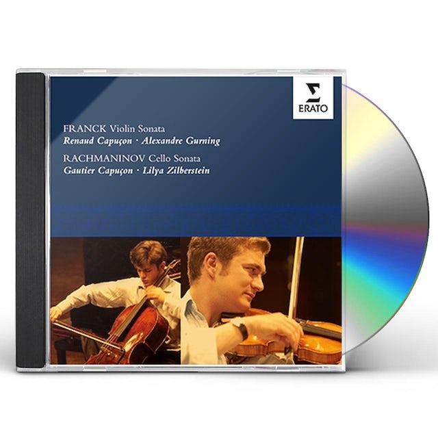 Renaud Capucon FRANCK: VIOLIN SONATA / RACHMANINOV: C CD