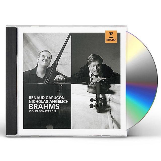 Renaud Capucon BRAHMS: VIOLIN SONATAS 1-3 CD