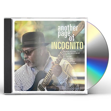 ANOTHER PAGE OF INCOGNITO CD