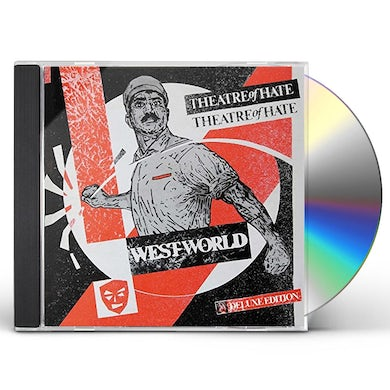 Theatre Of Hate WESTWORLD: 3CD DELUXE EDITION CD
