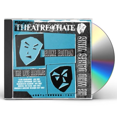 Theatre Of Hate HE WHO DARES WINS: DELUXE CD