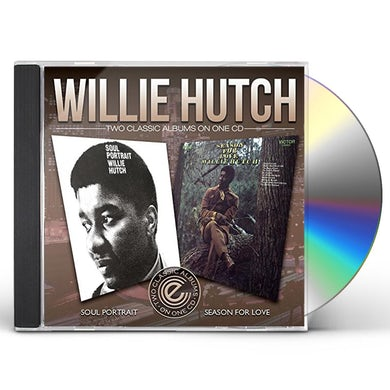 Willie Hutch SOUL PORTRAIT / SEASONS FOR LOVE CD