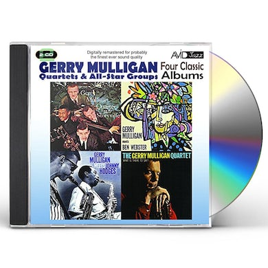 FOUR CLASSIC ALBUMS (GERRY MULLIGAN MEETS JOHNNY H CD