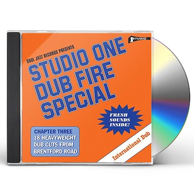Soul Jazz Records Presents STUDIO ONE DUB FIRE SPECIAL CD