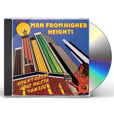 COUNT OSSIE & THE RASTA FAMILY MAN FROM HIGHER HEIGHTS CD