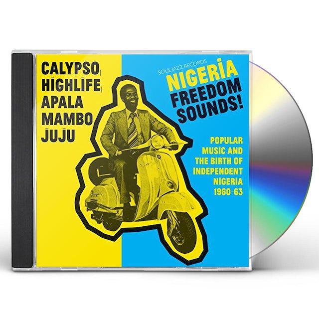 Soul Jazz Records Presents NIGERIA FREEDOM SOUNDS CD
