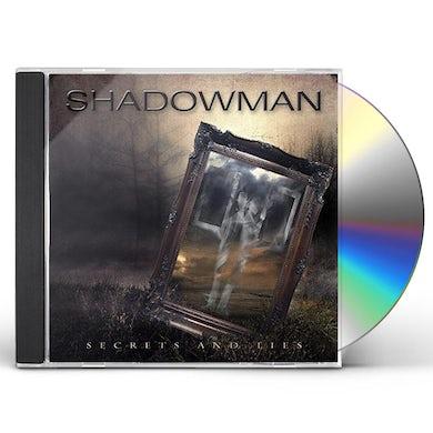 shadowman SECRETS & LIES CD