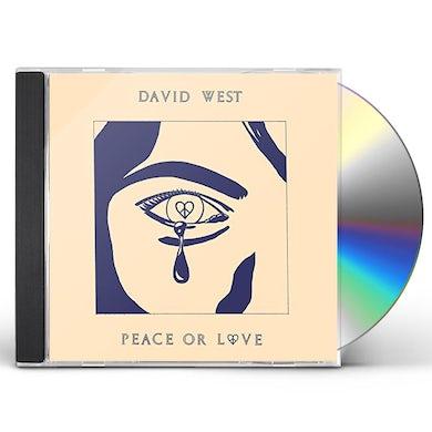 David West PEACE OR LOVE CD