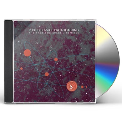 Public Service Broadcasting RACE FOR SPACE / REMIXES CD