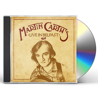 Martin Carthy LIVE IN BELFAST 1978 CD