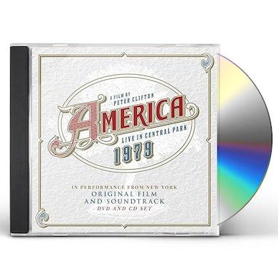 America LIVE IN CENTRAL PARK 1979 CD