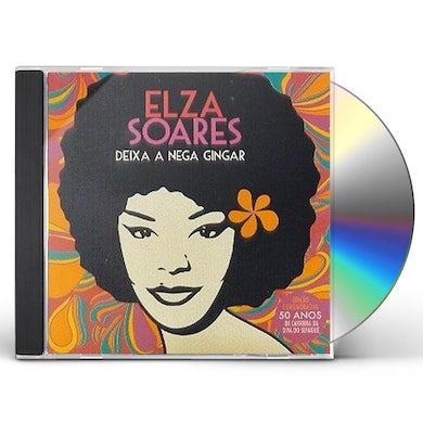 Elza Soares DEIXA A NEGRA GINGAR CD