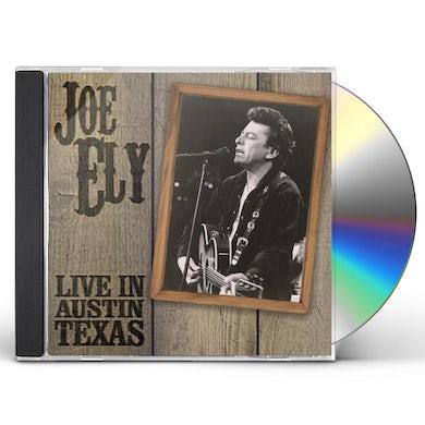 Joe Ely LIVE IN AUSTIN TEXAS CD