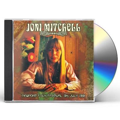 Joni Mitchell NEWPORT FOLK FESTIVAL 19TH JULY 1969 CD