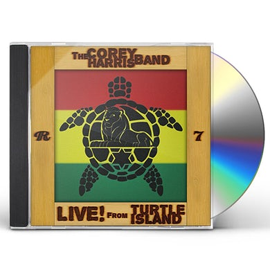 Corey Harris LIVE FROM TURTLE ISLAND CD