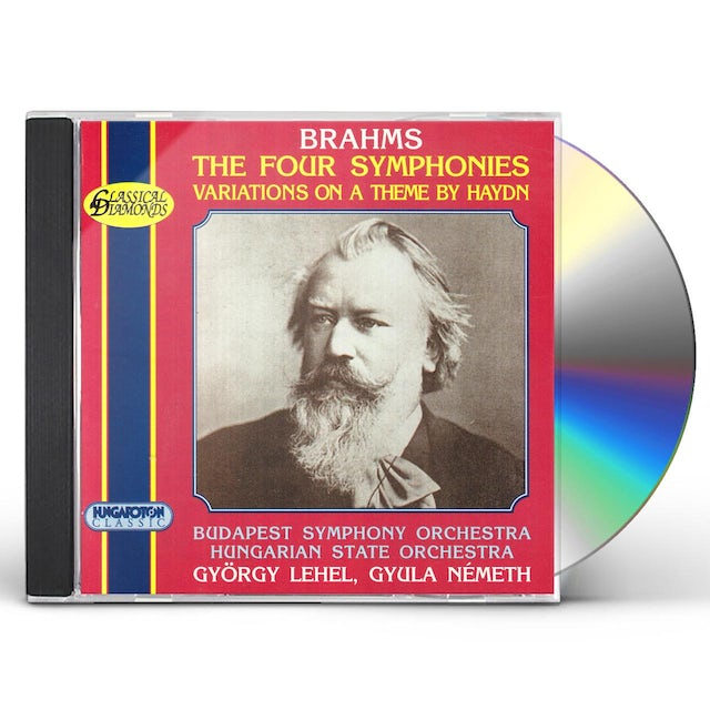 Brahms THE FOUR SYMPHONIES CD