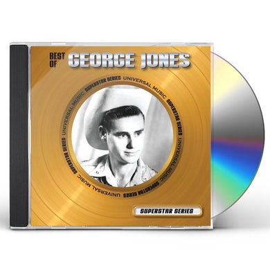 George Jones BEST OF-SUPERSTAR SERIES CD