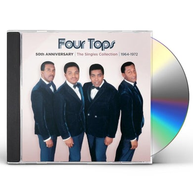 Four Tops 50TH ANNIVERSARY: SINGLES COLLECTION 1964-1972 CD