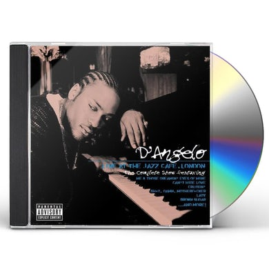 D'Angelo LIVE AT THE JAZZ CAFE LONDON CD