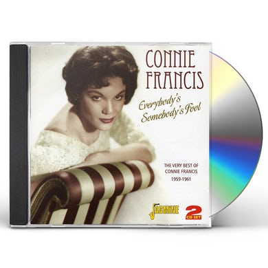 Connie Francis EVERYBODY'S SOMEBODY'S CD