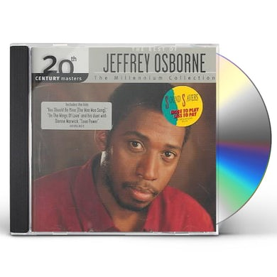 Jeffrey Osborne 20TH CENTURY MASTERS: MILLENNIUM COLLECTION CD