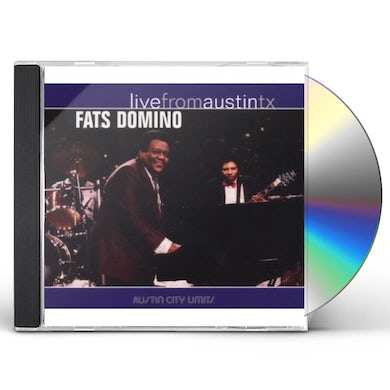 Fats Domino LIVE FROM AUSTIN TX CD
