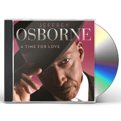 Jeffrey Osborne TIME FOR LOVE CD